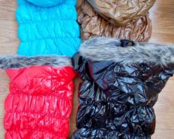 РАСПРОДАЖА! Крутые дутые куртки непромокаемые на синтепоне